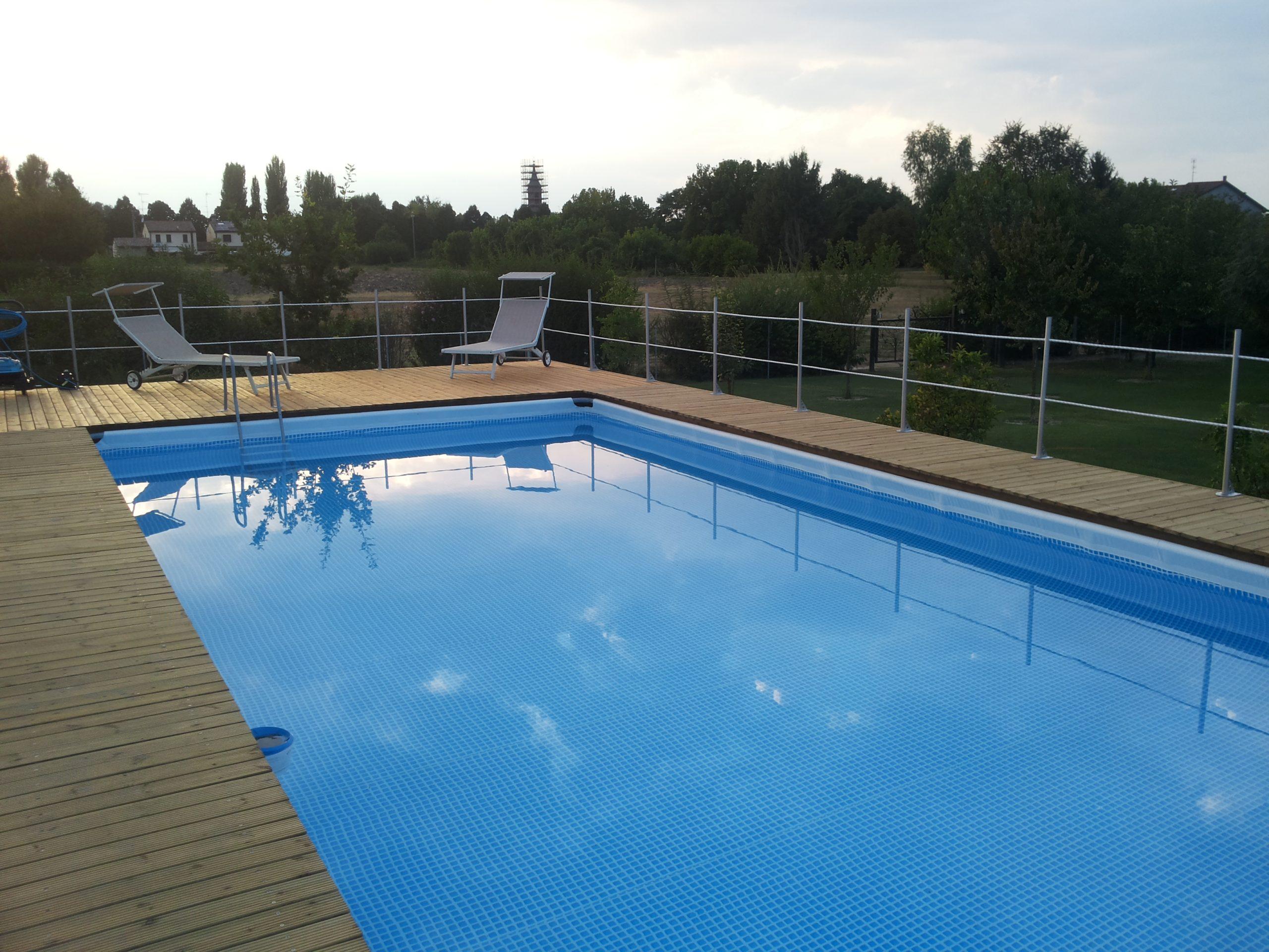 Piscine Da Esterno Rivestite In Legno piscine fuori terra intex - la cremona garden